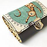 Peňaženky - Kočičí - peněženka - 8897204_