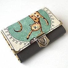 Peňaženky - Kočičí - peněženka - 8897201_