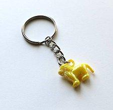 Kľúčenky - Kľúčenky detské - lev (Žltá) - 8893311_