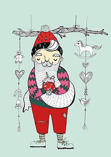 Grafika - Veselé Vianoce - 8892976_