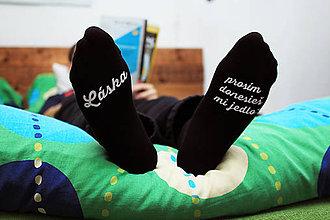 Obuv - Vianočné ponožky dones jedlo - 8895149_