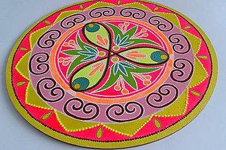Obrazy - Mandala porozumenia a bezpodmienečnej lásky30cm - 8894559_