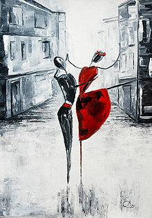 Obrazy - Tanec na ulici - 8893575_