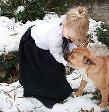 Detské oblečenie - Dlhá sukňa v historickom štýle - 8895409_