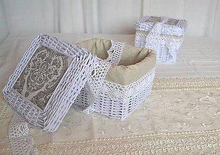 Košíky - Krabičky LUMI s poklopom / ks - 8893949_