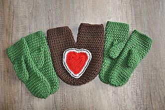 Rukavice - Rukavičky pre zamilovaných - 8902049_