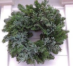 Dekorácie - Prírodný vianočný veniec (na dozdobenie) - 8899351_