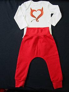 Detské oblečenie - Malá čertica - 8899002_