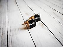 Šperky - Manžetové gombíky - 8901801_
