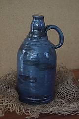 Nádoby - keramická fľaša - 8901426_