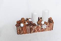 """Dekorácie - Vianočný svietnik """"Strom"""" - 8898711_"""
