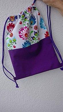 Batohy - Vrecúško na prezuvky - vak - ruksak- pre deti - 8898722_