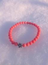 Náramky - Ružový koral - náramok - 8900792_