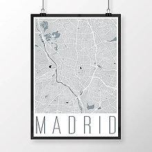Obrazy - MADRID, moderný, svetlomodrý - 8900329_