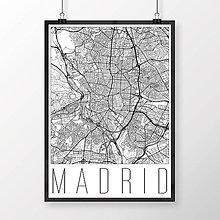 Obrazy - MADRID, moderný, biely - 8901059_