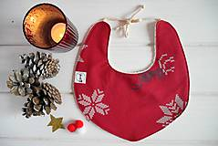 Detské doplnky - vianočný podbradník 10 - 8900630_