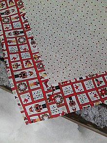 Úžitkový textil - jeden vianočný - 8899385_