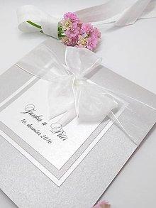 Papiernictvo - svadobné oznámenie 104 - 8900822_