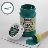Farby-laky - Dekor Paint Soft 100ml-borovicová zelená - 8899596_