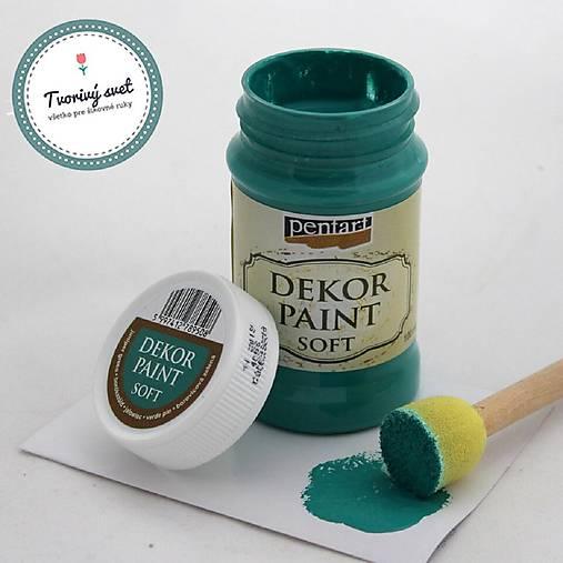Dekor Paint Soft 100ml-borovicová zelená