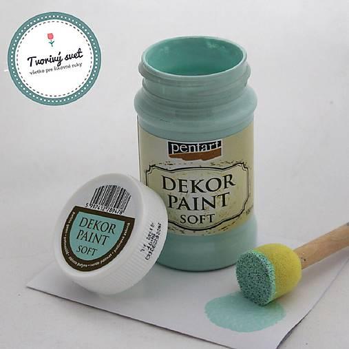 Dekor Paint Soft 100ml - patinová zelená