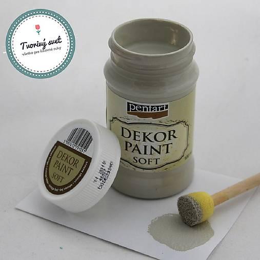 Dekor Paint Soft 100ml - vintage béžová
