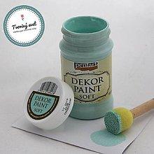 Farby-laky - Dekor Paint Soft 100ml - patinová zelená - 8899607_