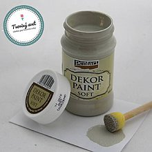 Farby-laky - Dekor Paint Soft 100ml - vintage béžová - 8899624_