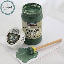 Farby-laky - Dekor Paint Soft 100 ml kaki - 8899655_