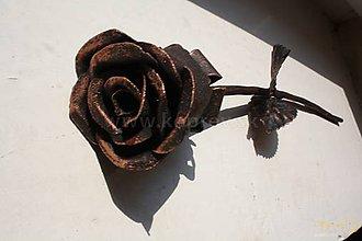 Dekorácie - Kované ruže (Meď/Bronz) - 8902791_
