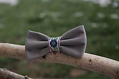 Doplnky - Motýlik sivý - folk - 8906044_
