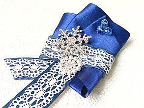 Odznaky/Brošne - Winter snowflake (brooch) - 8905552_