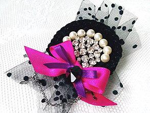 Odznaky/Brošne - Vintage lady (brooch) - 8905712_