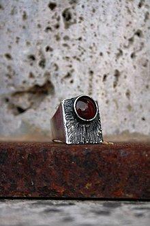 Prstene - Koncentrácia sily - Achát - 8906270_