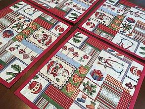 Úžitkový textil - Gobelínove prestieranie Vianočné - 8903201_