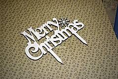 Dekorácie - Vianočný zápich..skladom - 8902922_