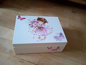 Krabičky - dievčatko - 8902224_