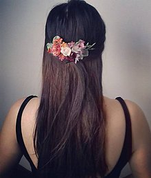 Ozdoby do vlasov - Hrebienok \