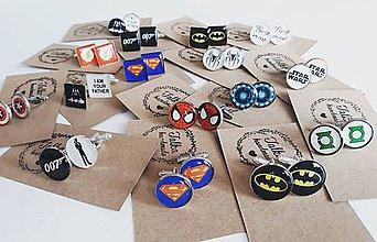 Šperky - Manžetové gombíky pre Super hrdinu ;) - 8905595_