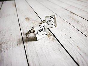 Šperky - Manžetové gombíky na objednávku - 8905958_