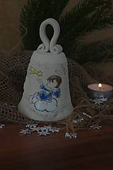 Dekorácie - zvonček -anjelik - 8904205_