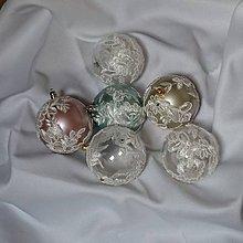 Dekorácie - Vianočná guľa - 8902995_