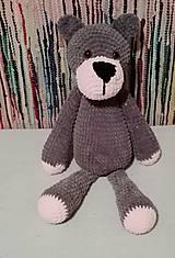 Hračky - Plyšový medveď 60 cm - 8905203_