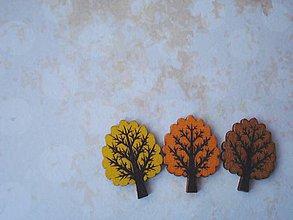 Galantéria - Gombík listnatý strom v plnej paráde - 8902435_