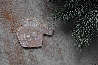 Odznaky/Brošne - Svetrík na kabát - 8905884_