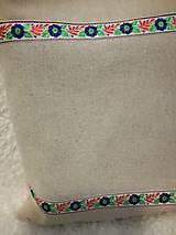 Nákupné tašky - Batoh, taška ľudová - 8906260_