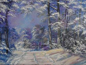 Obrazy - Poézia zimy - 8902953_