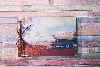 Papiernictvo - Fotoalbum klasický, polyetylénový obal s potlačou autíčka (dočasne nedostupné) - 8902245_