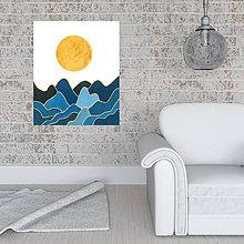 Grafika - Slnko nad oceánom/ Grafika - 8905019_