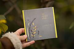 """Knihy - leporelo """"Taký obyčajný príbeh"""" - 8905850_"""